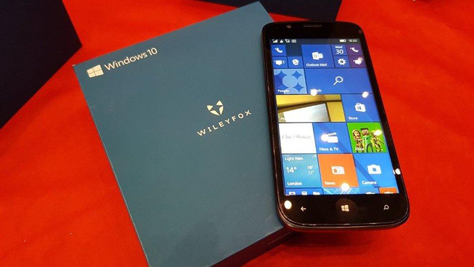 Wileyfox предложит 1-ый бюджетный смартфон наОС Windows