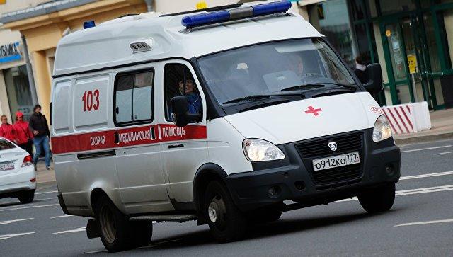 Вцентральной части Москвы после ДТП автобуса илегковушки восстанавливают движение