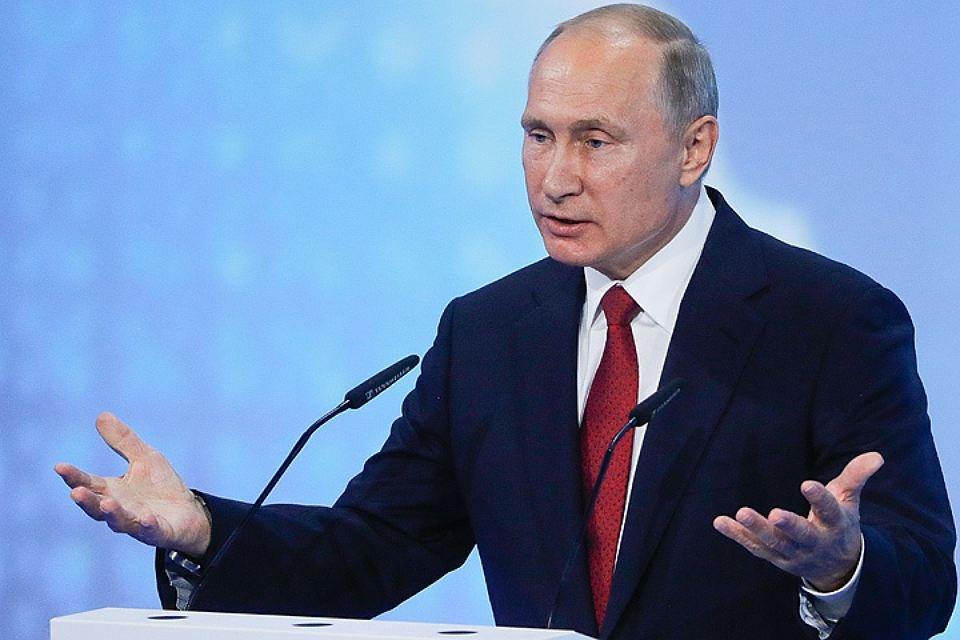 Говорить оначале президентской избирательной кампании еще рано— Путин