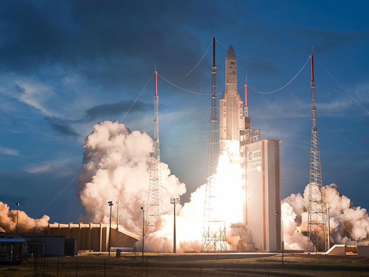 Старт ракеты-носителя Ariane 5 скосмодрома Куру довелось отложить