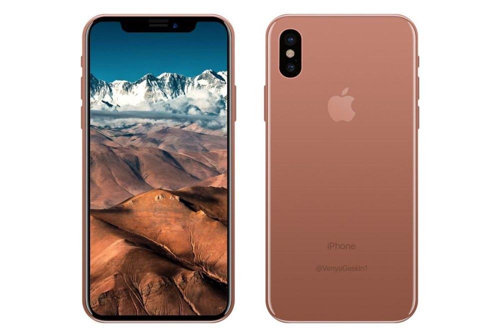Специалист : Дизайн iPhone 8 может непонравиться многим девушкам