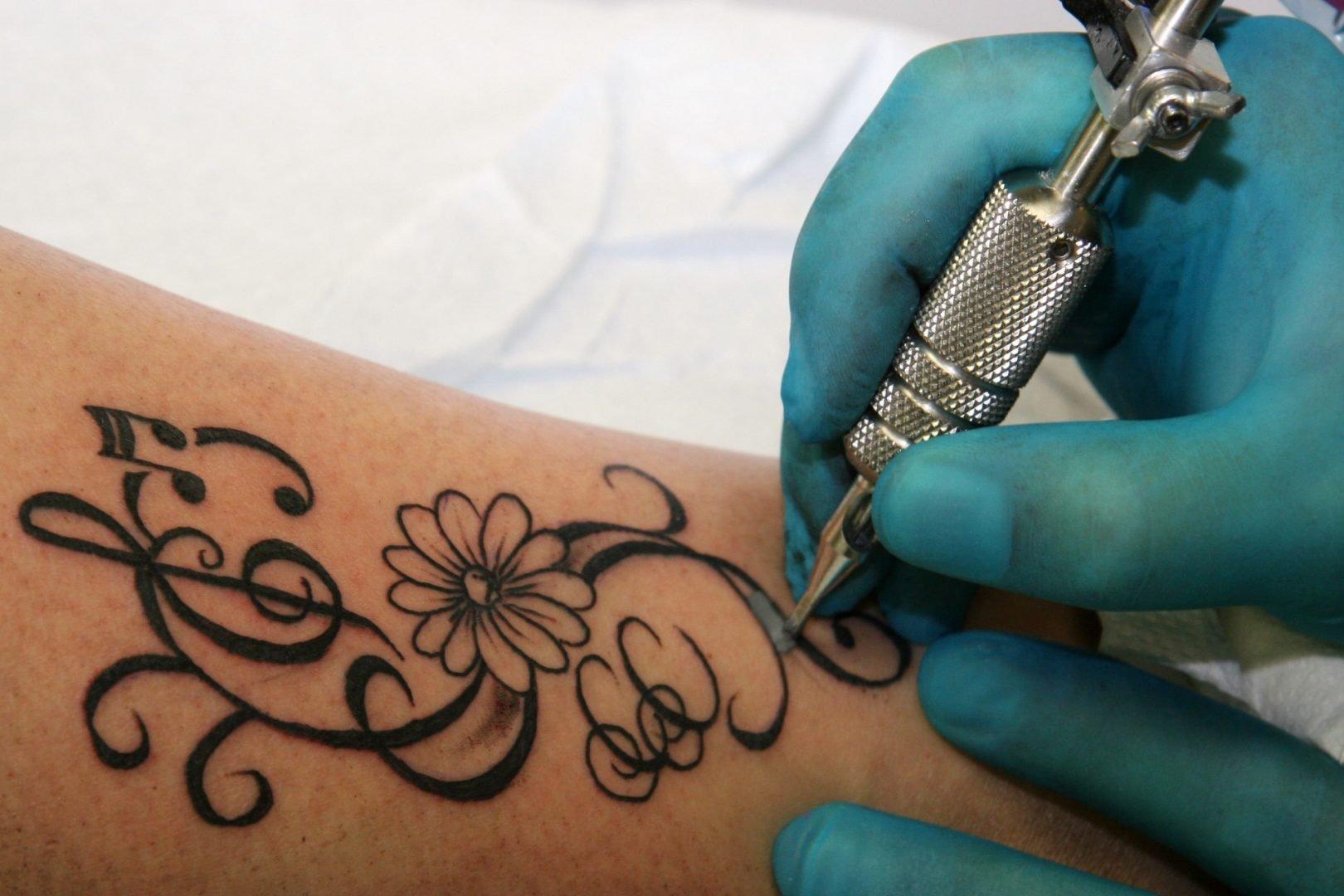 Что будет если набить тату чернилами из ручки