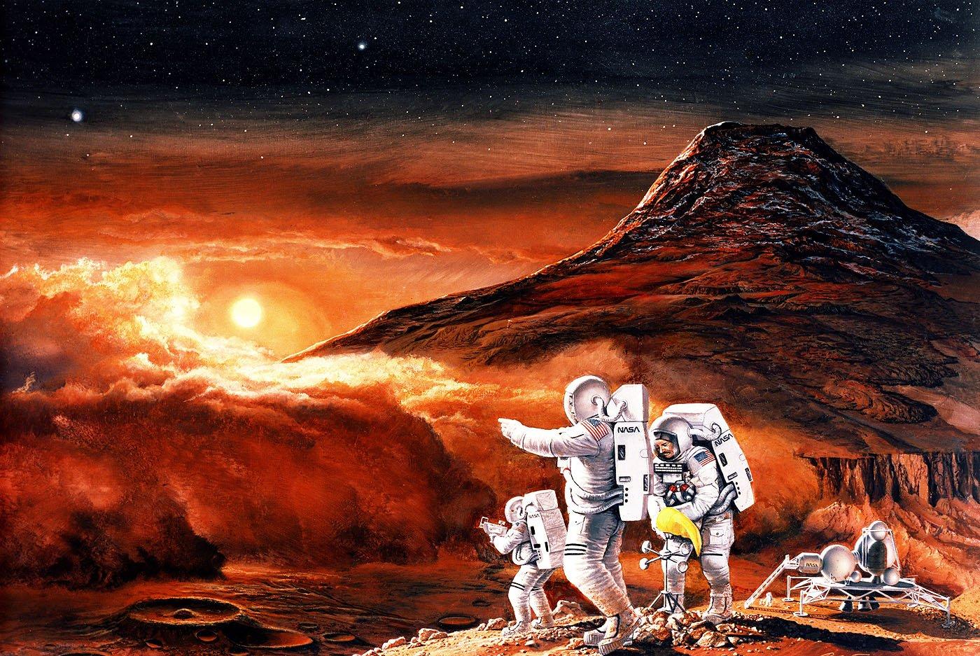 ВNASA поведали, когда человек полетит наМарс