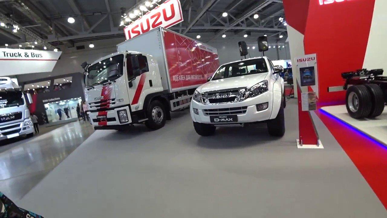 Isuzu показала наCOMTRANS-2017 новые лучшие модели