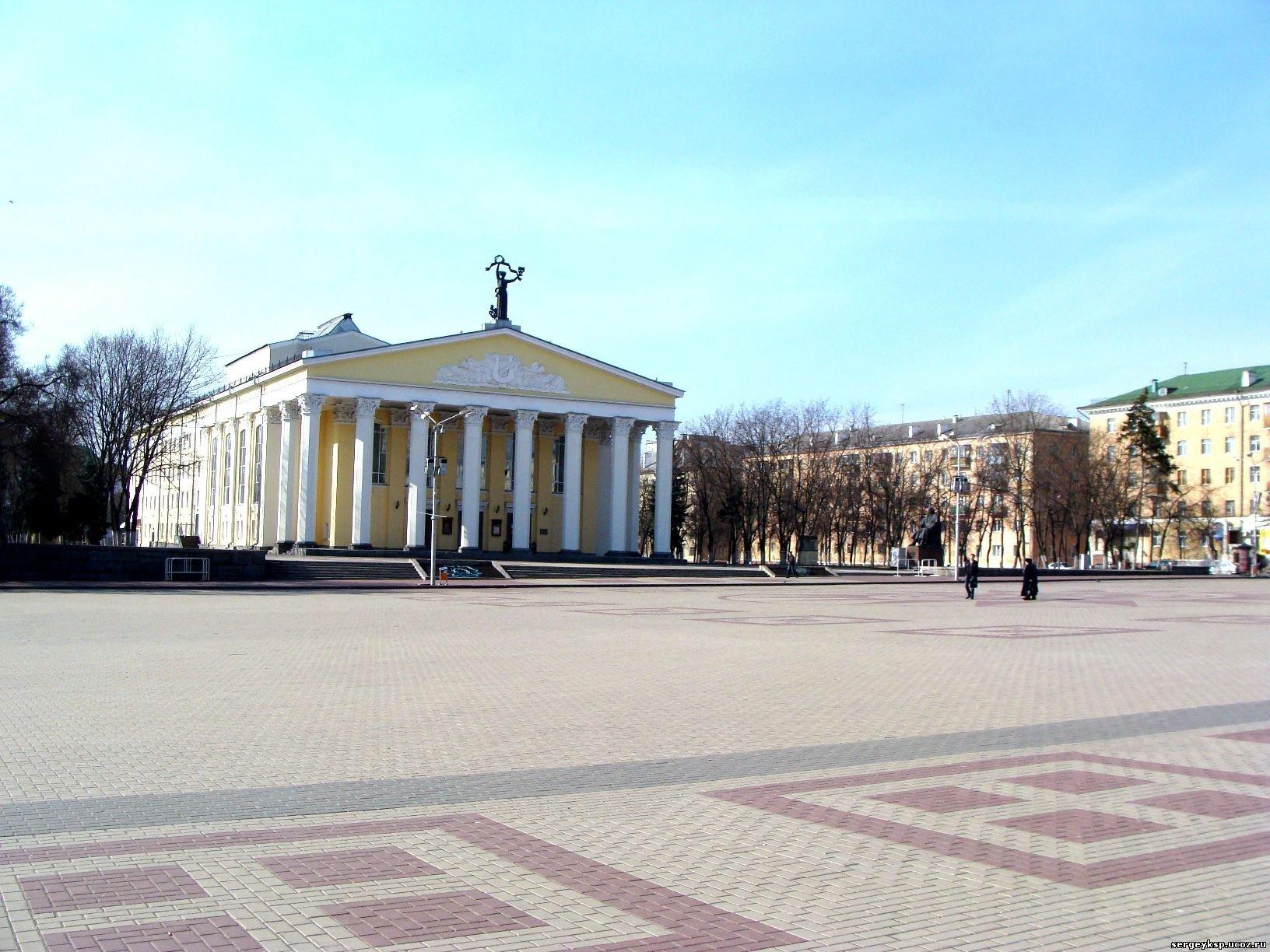 белгород соборная площадь фото
