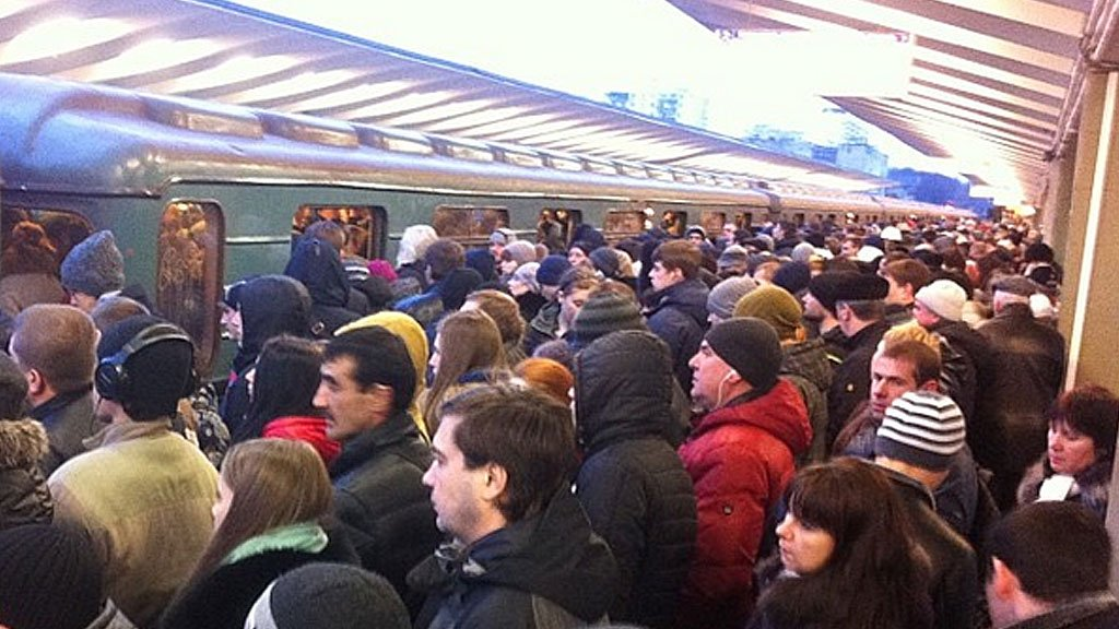 Поезда задерживаются на«фиолетовой» Таганско-Краснопресненской линии московского метро