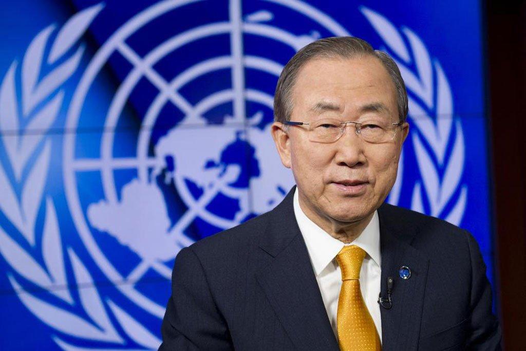 Прошлый генеральный секретарь ООН Пан ГиМун возглавил комитет поэтике МОК
