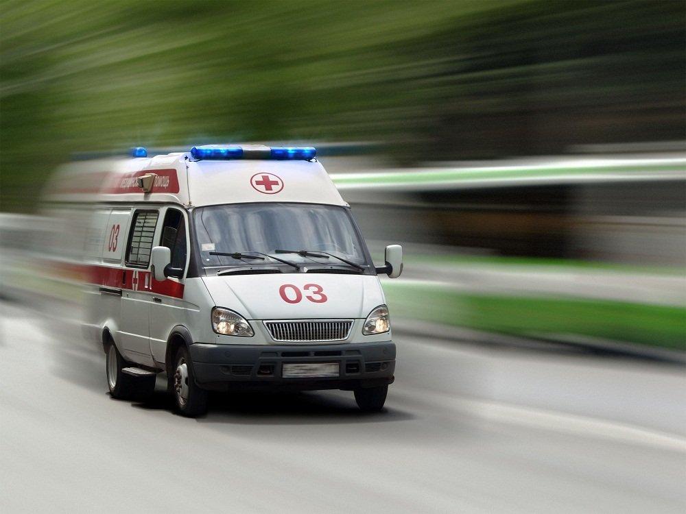 «Жигули» разорвало начасти после столкновения сфурой под Приозерском