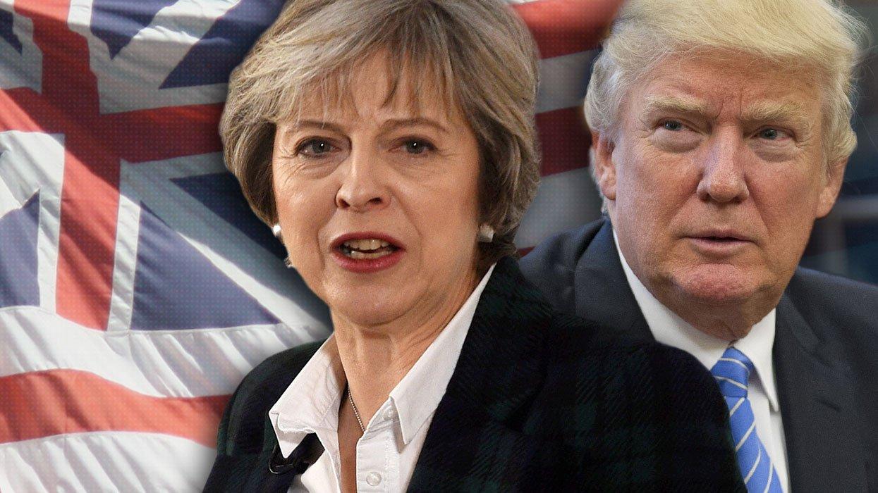 Возникла реакция Трампа— Теракт встолице Англии