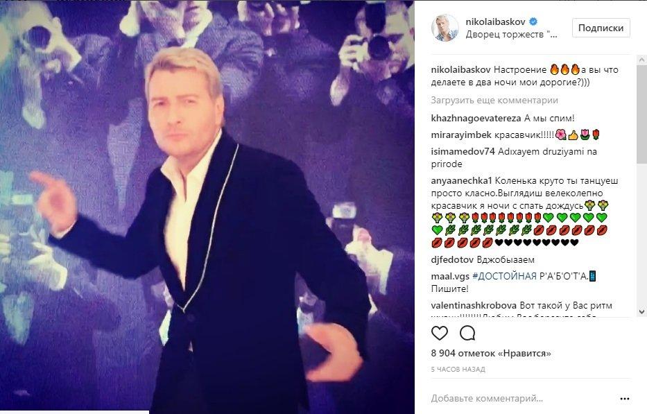 Николай Басков показал сына