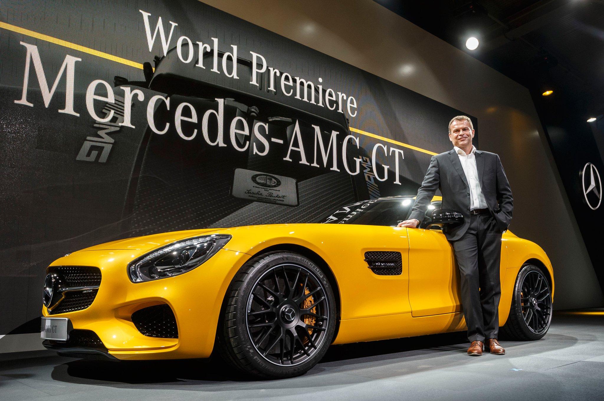 ВДетройте представят серийный Mercedes-AMGGT