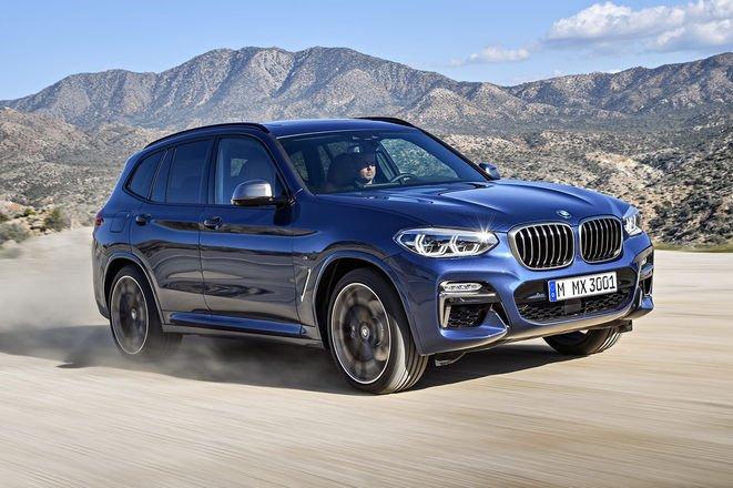 BMW озвучила стоимость обнонвленного кроссовера X3 2018 года для Австралии
