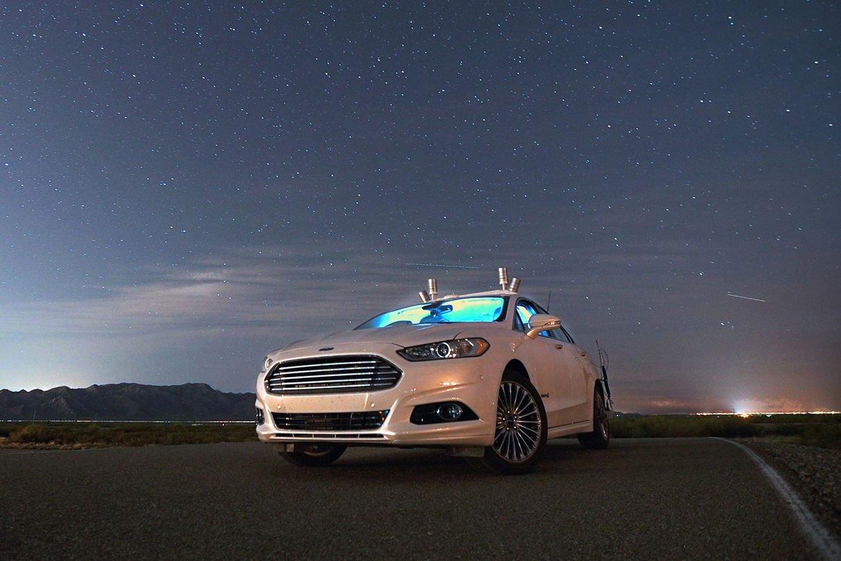 Форд выпустит навсе 100% автономный автомобиль для каршеринга в 2021-ом