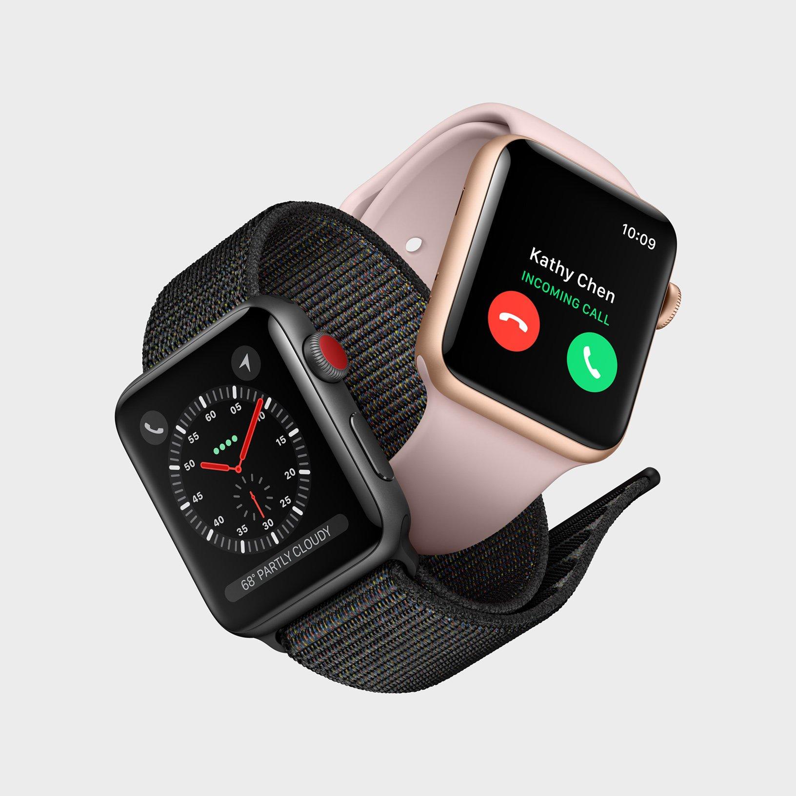 Apple признала наличие проблем с LTE в своих новых часах Apple Watch