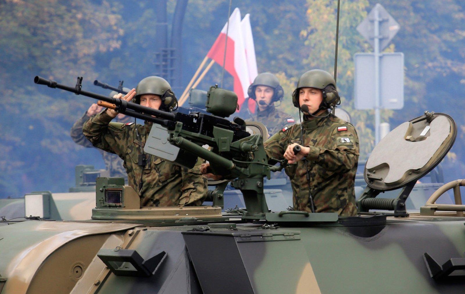 ВПольше проходят военные учения НАТО Dragon
