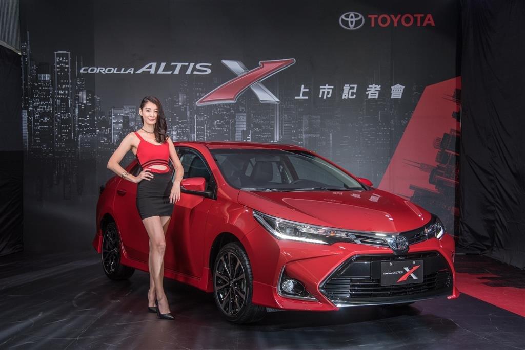 Модель Toyota Corolla Altis X была представлена на Тайване