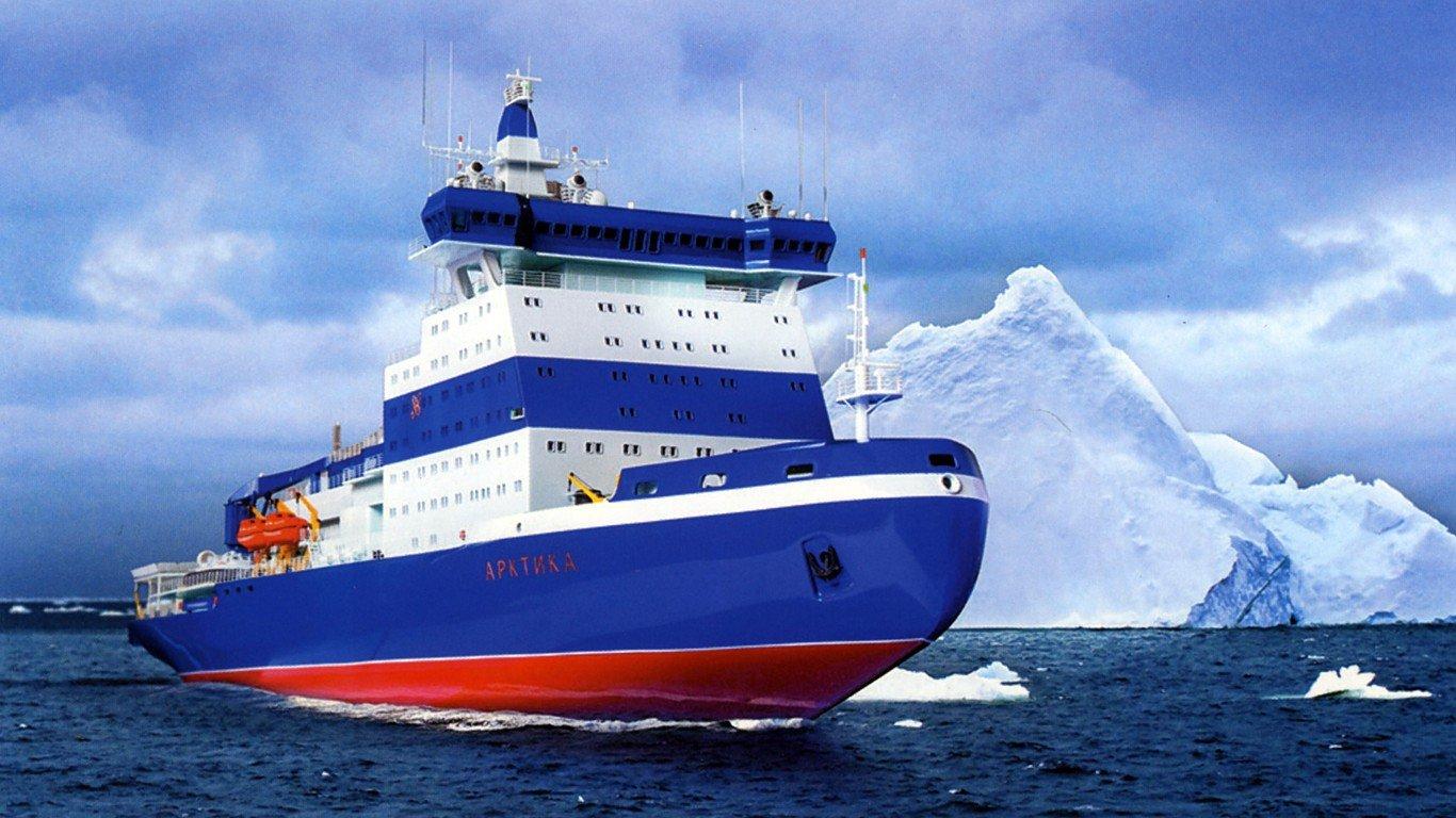 Тестирования ледокола «Арктика» начнутся в следующем 2018-ом