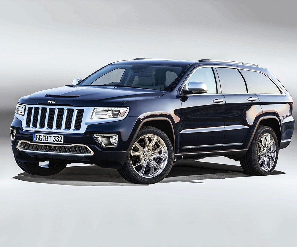 Jeep Grand Wagoneer выйдет в 2019-ом году