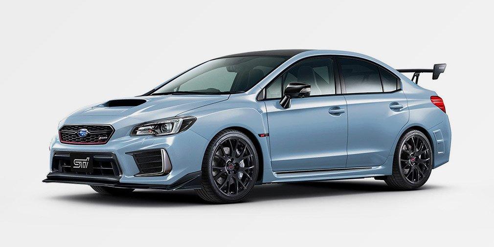 Subaru представит в Токио экстремальный седан WRX STI S208