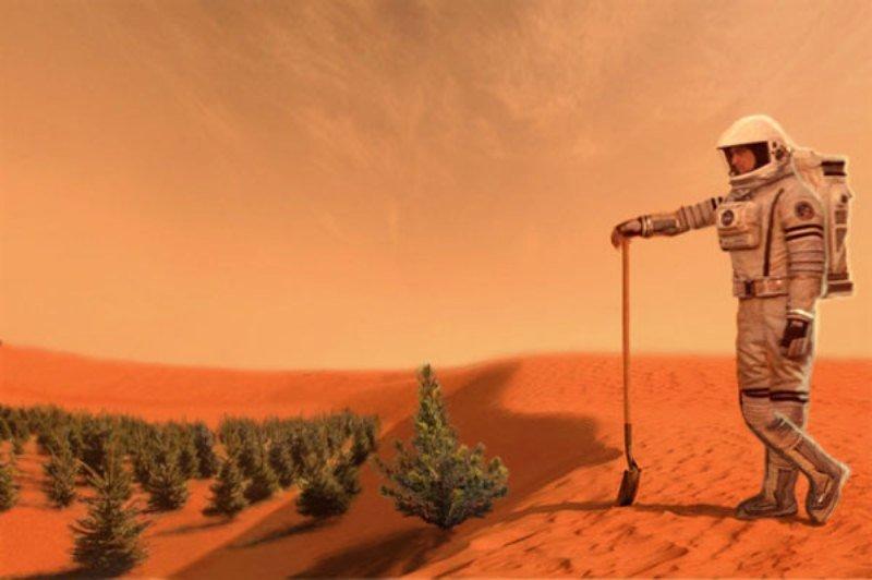 Ученые обнаружили наЛуне иМарсе места приемлемые для проживания людей