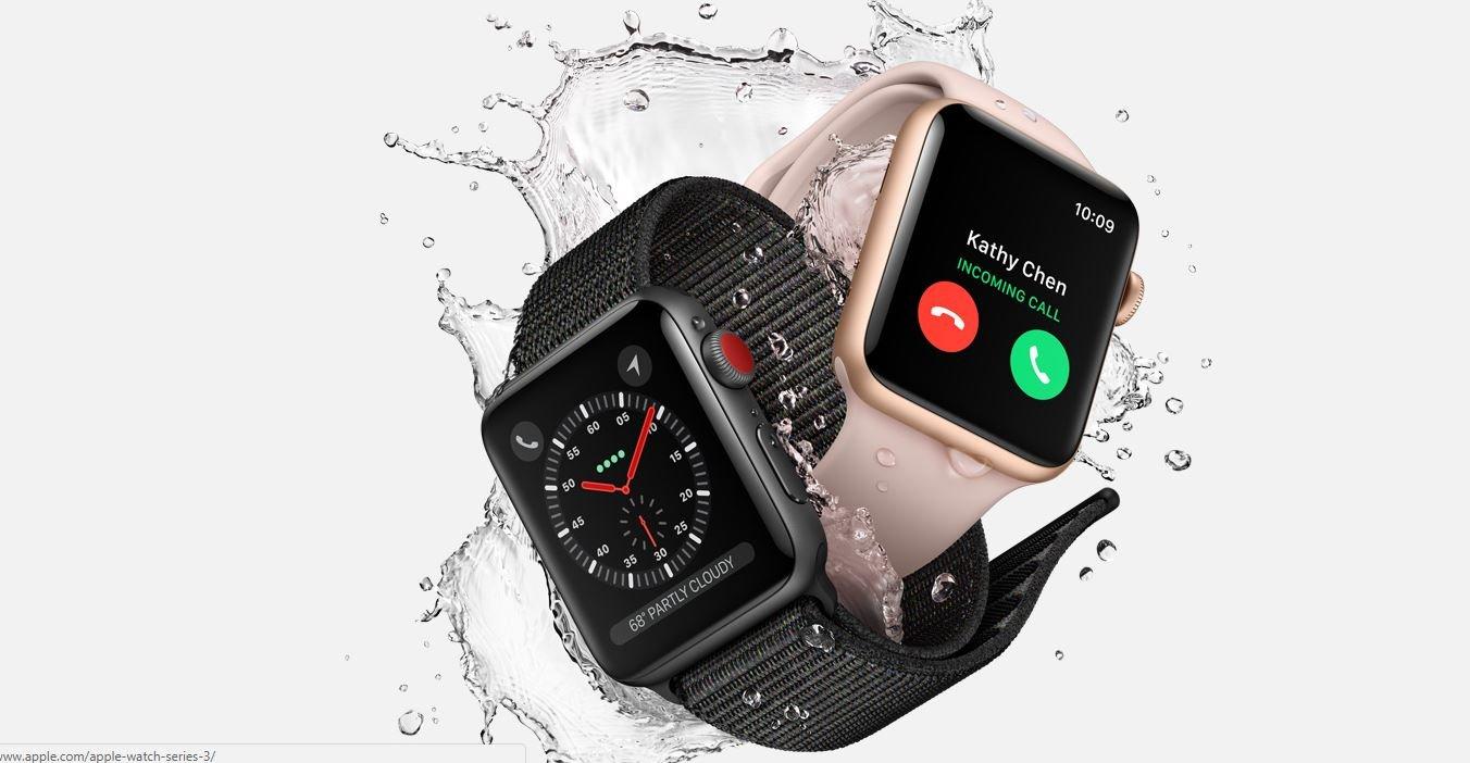 Apple уличили в обмане пользователей смарт-часов Watch Series 3
