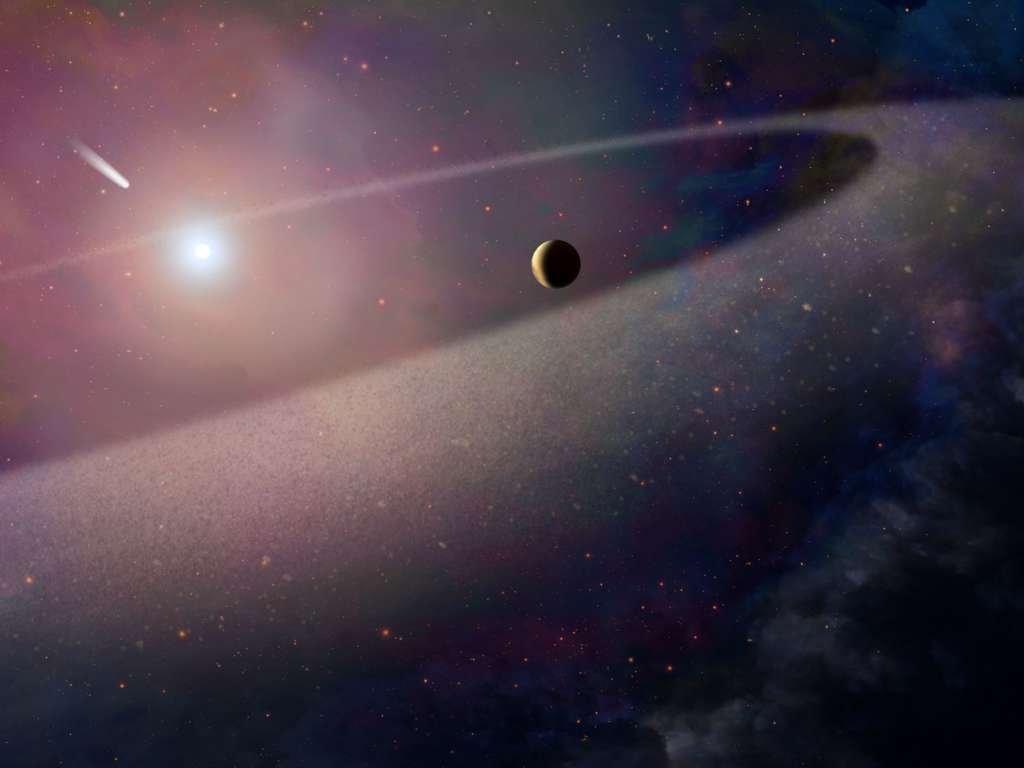 Астрономы открыли самую удаленную отСолнца комету