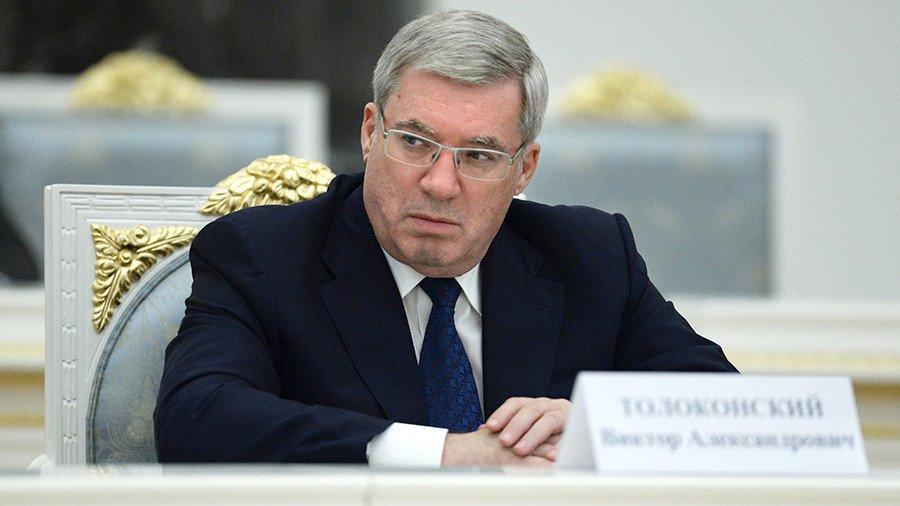 Путин принял отставку руководителя Краснодарского края Виктора Толоконского