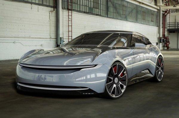 Британцы представили концепт электрического суперкара Alcraft GT