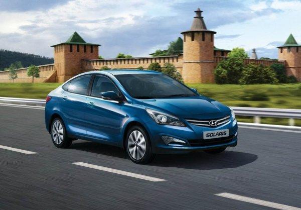 В России на Hyundai Solaris резко возросли цены