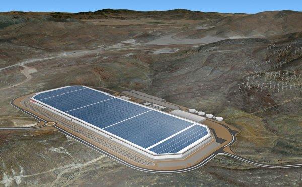 Tesla создала новую Гигафабрику по производству солнечных батарей