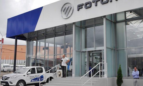 В основе авто обслуживания Китайского павильона ЭКСПО лежат технологии Foton Motor