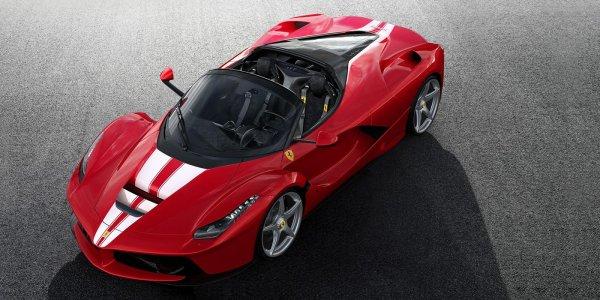 Последний суперкар LaFerrari продали за 8,3 млн евро