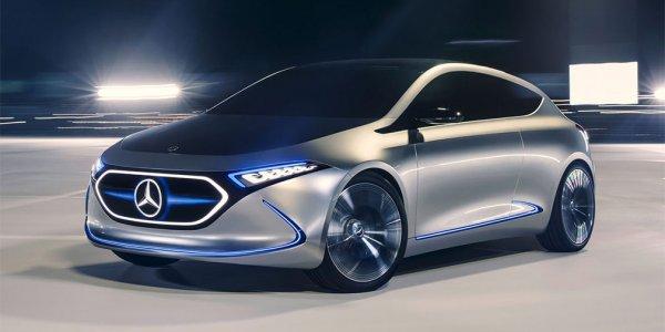 Mercedes-Benz презентовал электрический хэтчбек EQA