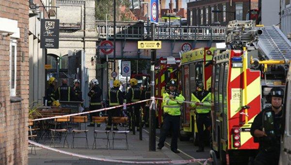 Полиция Лондона назвала взрыв в метро терактом