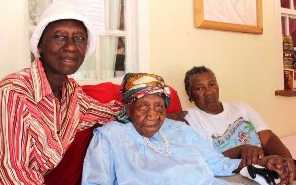 Старейшая жительница Земли умерла на Ямайке