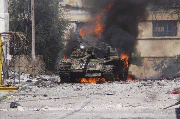 Российская авиация уничтожила в Сирии три завода террористов по изготовлению шахид-танков