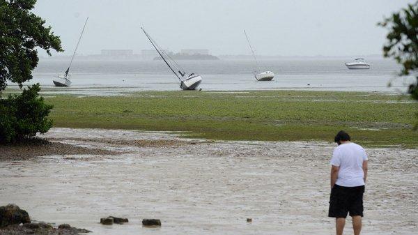 Тропический шторм «Норма» близ берегов Мексики усилился до уровня урагана