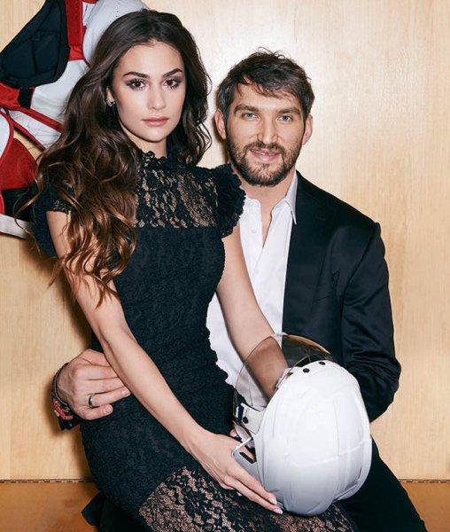 Дочь Глаголевой мило поздравила мужа Овечкина с Днем Рождения
