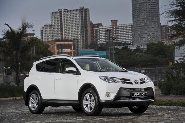 Продажи Toyota RAV4 в России в августе увеличились на 11%