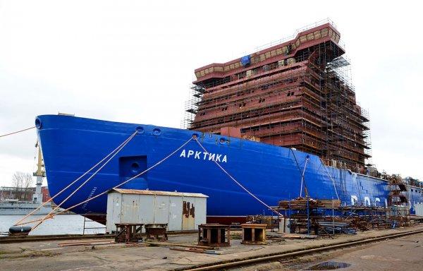 В 2018 году стартуют испытания головного атомного ледокола «Арктика»