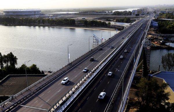 В Ростове-на-Дону торжественно открыли Ворошиловский мост