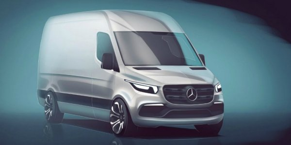 Немцы показали новый Mercedes-Benz Sprinter и назвали сроки его выхода