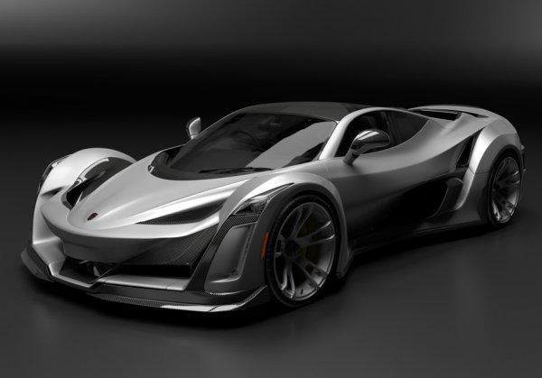 Anibal Automotive построит спорткар на базе Porsche 911 Turbo S