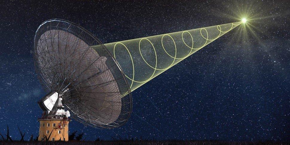 Ученые изГермании зафиксировали необъяснимый знак издалекой галактики