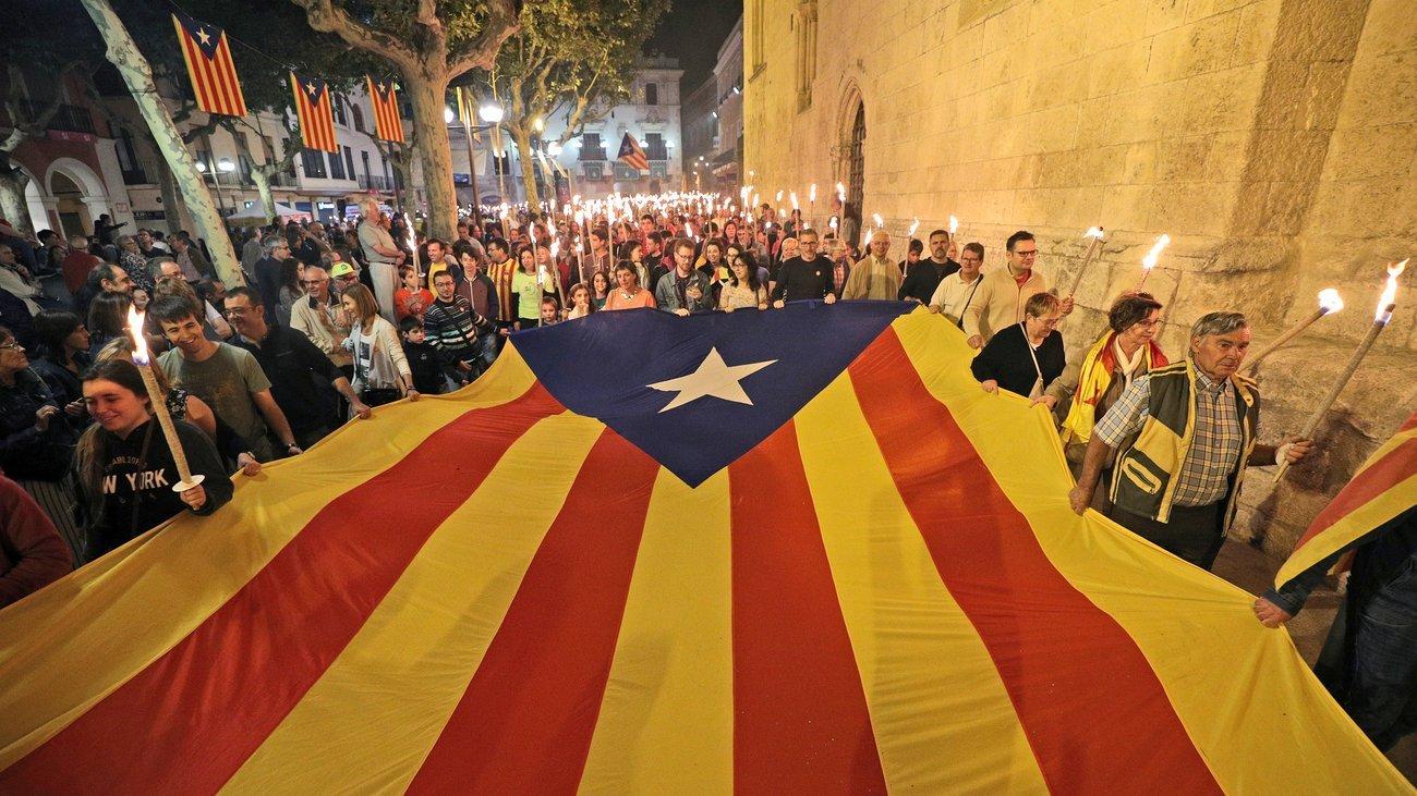 Независимость Каталонии поддержали 90% участников референдума