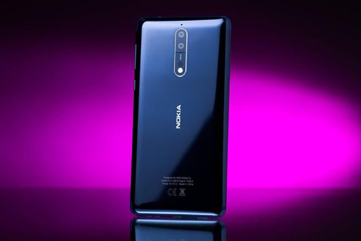 Изображение Android-смартфона нокиа 9 всиней расцветке