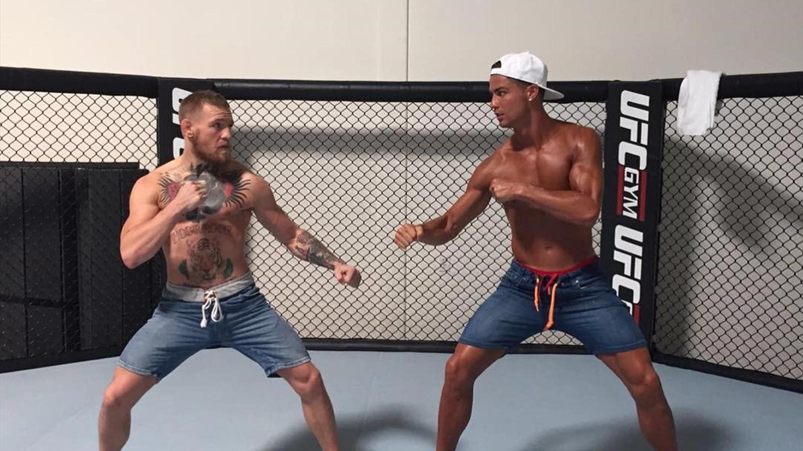 Роналду желает попробовать себя вкачестве боксёра