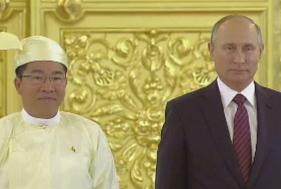 Уполномоченный Мьянмы оказался земляком Владимира Путина изПитера— Встреча спослами