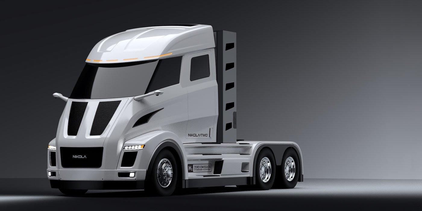 Компания Nikola разработает 1000-сильный электрический фургон