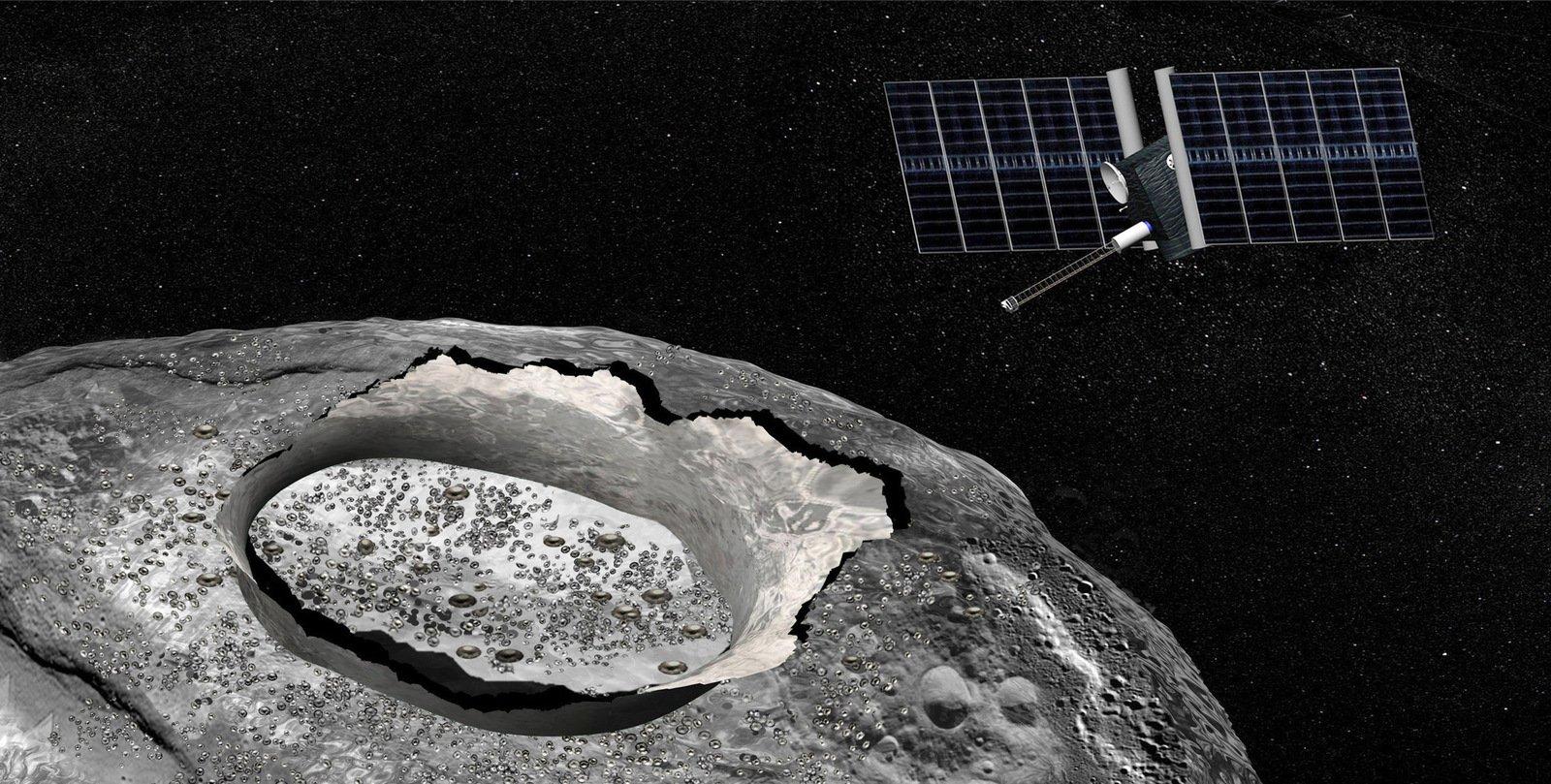 NASA отправит миссию кастероиду Психея в 2022-ом